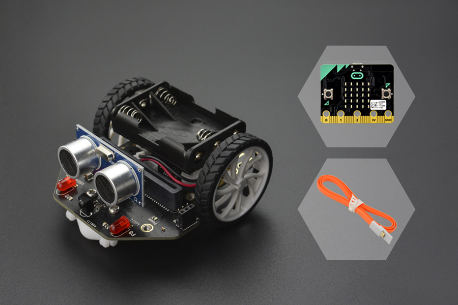 micro: Maqueen (with micro:bit)