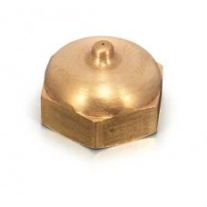 Nozzle in ottone con foro diametro 0,8 mm