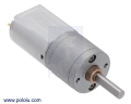 100:1 Metal Gearmotor 20Dx44L mm 6V CB