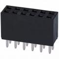 """12 Posizioni Basetta Connettore 0,100"""" (2,54 mm) Foro passante S"""