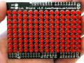 LoL Shield RED - A charlieplexed LED matrix kit for the Arduino