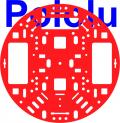 Pololu 5 (inches) Robot Chassis RRC04A Solid Red