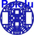 Pololu 5 (inches) Robot Chassis RRC04A Solid Blue
