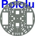 Pololu 5 (inches) Robot Chassis RRC04A Transparent Gray