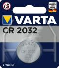 BATTERIA CR2032 LITIO 3V BOTTONE CONF.BLISTER 1PZ VARTA