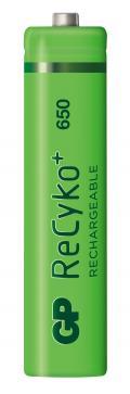 Blister 4 Batterie Ricaricabili AAA Mini Stilo GP ReCyko