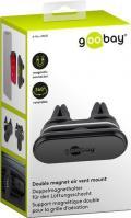 Doppio Supporto Magnetico da Auto per Smartphone e Tablet