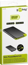 Power Bank 8000 mAh Cavo USB Integrato
