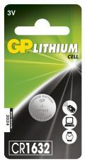 Blister 1 Batteria Litio a Bottone CR1632
