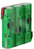 Batterie Ricaricabili NiMH 3xAA HR6 2100 mAh 3.6V a Saldare