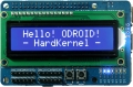 16 x 2 LCD + IO Shield