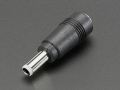 2.1mm to 2.5mm DC Barrel Plug Adapter
