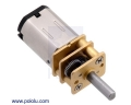 250:1 Micro Metal Gearmotor MP 6V
