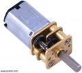 30:1 Micro Metal Gearmotor HP