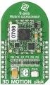 3D Motion Click 9DoF Sensor Board