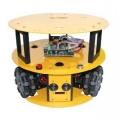 3WD 100MM OMNI WHEEL MOBILE ROBOT KIT