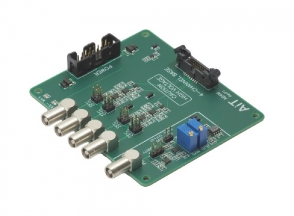 4-Channel Active Base Receiver with LEMO connectors