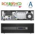 800 G2 SFF I5-6500 8GB 500GB VGA/DP/RS232 USB3.0 W10PRO REFURBIS