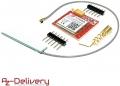 AZDelivery Modulo SIM800L GSM GPRS con Antenna