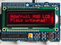 Adafruit RGB Negativo 16x2 LCD+Keypad Kit for Raspberry Pi