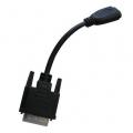 Adattatore HDMI Femmina a DVI-D Maschio (24 + 1 pin)