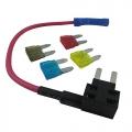 Adattatore fusibile Tap, da aggiungere al doppio circuito termin