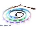 Addressable RGB 30-LED Strip, 5V, 1m (SK6812)