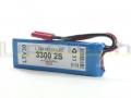 Batteria LIPO (polimeri di litio)  LTV30 3300mAh 7,4 Volt