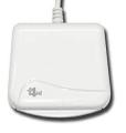 Bit4id miniLector EVO Indoor USB 2.0 White smart card reader