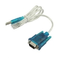 CAVO ADATTATORE SERIALE USB A RS-232 DB9 90 CM - M/M