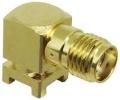 CONSMA002-SMD-G - CONN SMA RCPT R/A 50 OHM SMD