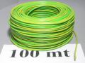 Cavo N07V-K 1P x 2,5mmq - Giallo/Verde