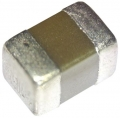 Condensatore ceramico C 100nF, ±10%, 25V cc, SMD