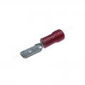 Connettore Faston 4.8mm con coprifaston Rosso
