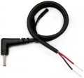 DC Plug Cable Assembly 2.5mm L Type