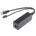 DSLRKIT Active PoE Splitter Power Over Ethernet 48V to 5V 2.4A M