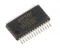 Da USB a UART seriale FT232RL, 3MBd, SSOP 28 Pin