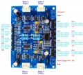 4 Channel DC Motor Controller with Encoder Support