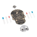 Day of the Geek - Soldering Badge Kit (Black)