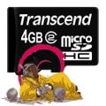 Debian microSD 4G memory card