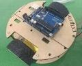 Dual-layer 2-Motore Smart Car Telaio