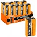 Duracell, 10 batterie alcaline 9 V, blocco Industrial, arancione