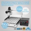 Fresatrice CNC macchina per incisione a 3 assi, 300 mm x 400 mm
