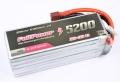FullPower   Batteria Lipo 4S 5200mAh 35C Silver Edition V2 spina