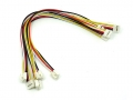 Grove - Universal 4 Pin Unbuckled 20cm Cable (5 PCs pack)