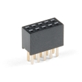 Header - 2x5 Pin (Female, 1.27mm)