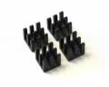 Heatsinks for pololu / stepstick stepper drivers (set of 4)