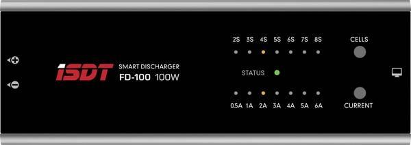ISDT FD 100 Scaricatore per modellismo LiPo, LiIon, LiFePO, LiHV