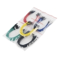 "Jumper Wires Premium 6"" F/F Pack of 100"