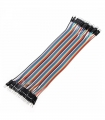 Jumper Wires ZipWire Male-Male 40 Unzipp Wires x 10cm